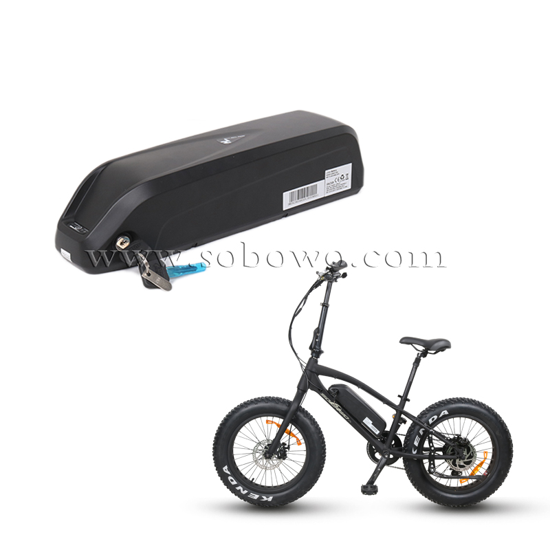 Rechargeable Hailong Downtube Type Ebike Lithium Battery