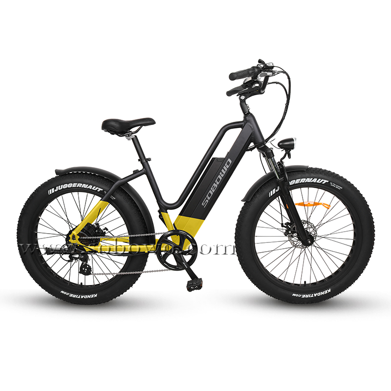 The Best Step Through Fat Tire Electric Bike for Sale